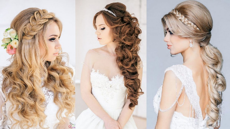 4 different Wedding Hairstyles, How To Pick The Best Fit For You