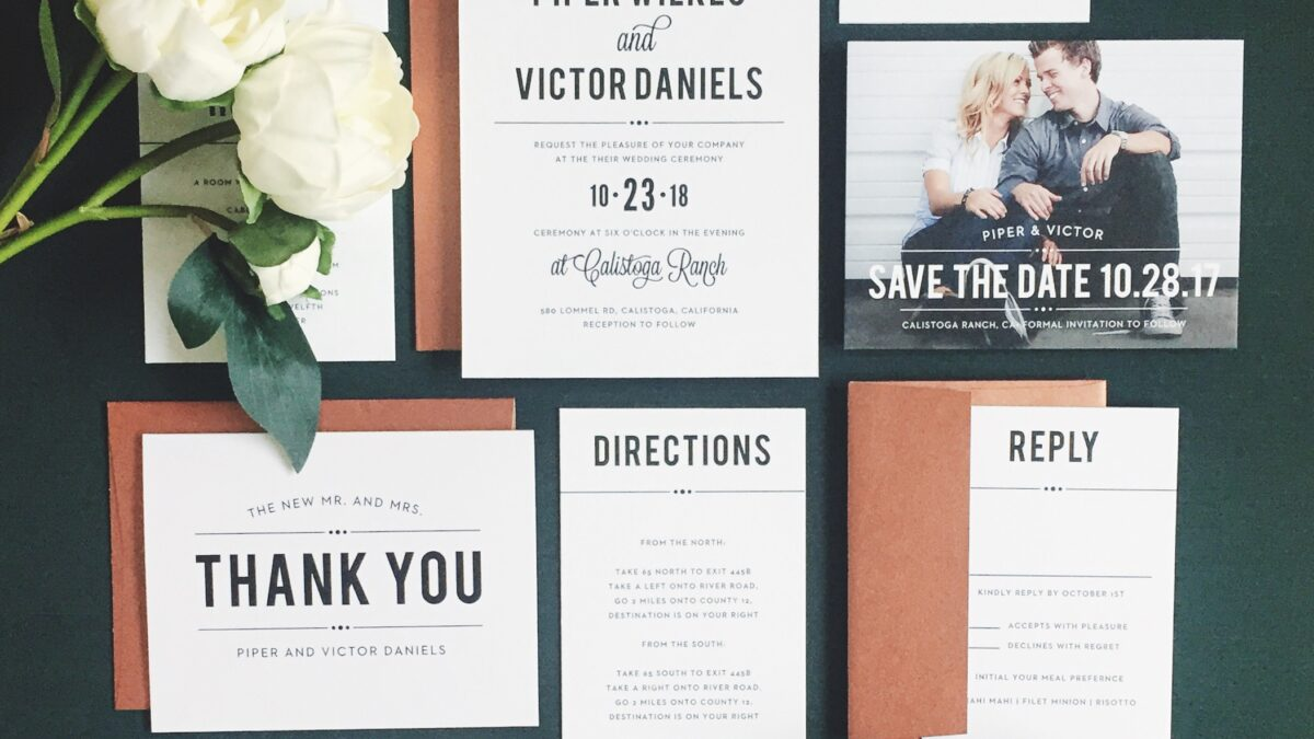 Finding The Perfect Wedding Card